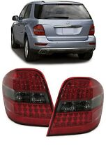SMOKED LED REAR TAIL LIGHTS LAMPS FOR MERCEDES ML W164 03/2005-2008 REDSMK16AML