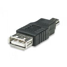 2 .0 ADAPTADOR DE USB CONVERTIDOR USB HEMBRA A MINI USB MACHO
