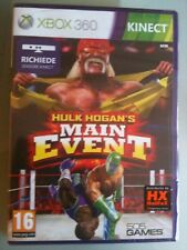 HULK HOGAN'S MAIN EVENT XBOX 360  SIGILLATO ITALIANO RICHIEDE KINECT