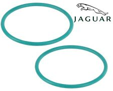 For Jaguar S-Type X-Type Pair Set of 2 Front Intake Manifold Gasket Genuine