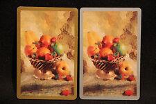 Vintage Fruit Bowl Blank Back Swap Cards Detail Pics lot 30