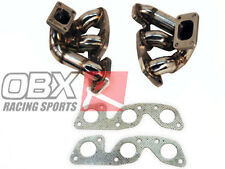 OBX Exhaust Header Manifold Fit Nissan Skyline RB26DETT RB26 R34 Twin Turbo