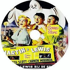 Scared Stiff - Dean Martin Jerry Lewis Lizabeth Scott Carmen Miranda Rare 1953