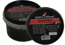 Savon Noir Enrichi A L Huile D Argan , Jardin D Oleane, 250gr