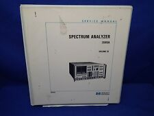 HP 3585A SPECTRUM ANALYZER SERVICE MANUAL VOLUME 3