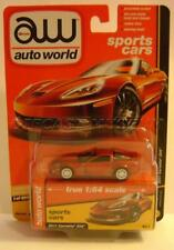 2011 '11 CHEVY CORVETTE Z06 ULTRA RED CHASE CAR AUTO WORLD DIECAST 2018