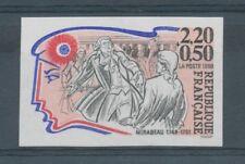 1989 France N°2565, Mirabeau Non dentelé Neuf luxe** D2939