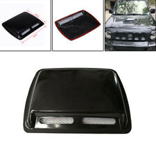 Universal ABS Black Car Air Flow Vent Cover Decoration Trim Front Grille Cover