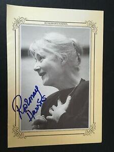 ROSEMARY HARRIS - POPULAR BRITISH ACTRESS - SIGNED THEATRE PROGRAMME PHOTO