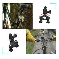 Adjustable Bike Bicycle Handlebar Mount Clamp Bracket Tripod For Camera DV Gopro