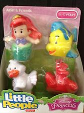 Fisher Price Little People Disney Princess Ariel and Friends NEW