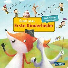 Sing mal Erste Kinderlieder Mit 6 Melodien Ab 2 Jahre Carlsen Verlag + BONUS