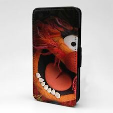 Para Funda para Estuche Abatible Apple iPod Touch Muppet Show Animal-T56