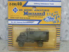 Roco Minitanks (NEW) Modern West German Unimog Ambulance Truck Lot# 2257