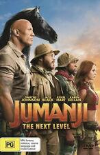 Jumanji The Next Level Dvd Brand New Sealed! Region 4! FAST FREE POST!