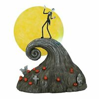 Department56 The Nightmare Before Christmas Village Jack On Spiral Hill Figurine
