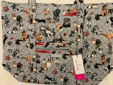 Vera Bradley Best in Show Dogs Large Tote Exact Bag Limited Ed