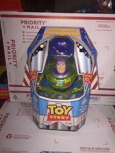 Vintage 1998 Buzz Lightyear in Rocket Box New