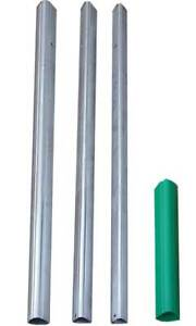 New S&K Telescoping Aluminum Tri-Pole with Ground Socket, 15' for birdhouses