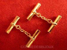 """Boutons de Manchette """"Baguette"""" Rouge Chemise Cufflinks - Bijoux pur Collection"""