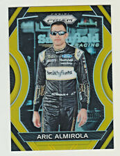 2018 Prizm Racing GOLD PRIZM REFRACTOR #42 ARIC ALMIROLA 7/10 NASCAR ULTRA RARE