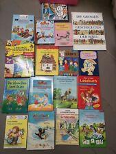 Konvolut 17 Kinderbücher Grundschulalter Erstleser Leseanfänger