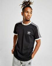 adidas Men's 3-Stripes T-Shirt - Black, M (CW1202)