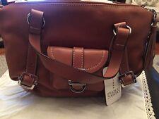 Franco Sarto Caramel genuine leather bag New with tags