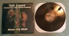 """50 Cent 12"""" Rowdy Rowdy / How to Rob ft Madd Rapper 1999 exc shrink"""