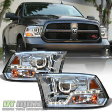 [Mono-Eye] 2009-2018 Dodge Ram 1500 2500 3500 LED DRL Halo Projector Headlights