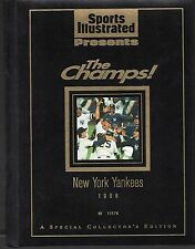 Sports Illustrated New York Yankees 1996 World Series Champions Hard Cover Jeter