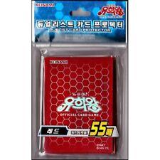 "Yugioh Cards Sleeves [55PCS] ""Duel Monsters - Red"" / KONAMI / Sealed"