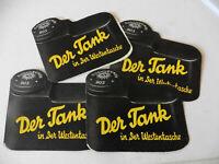4x Soennecken Tank Faltblatt - 1930iger Jahre - guter Zustand