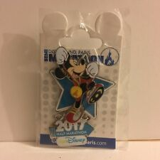 PINS TRADING DISNEY SEMI MARATHON 2017 MICKEY DISNEYLAND PARIS