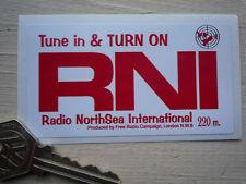 Radio RNI Northsea internacional clásico Auto Adhesivo