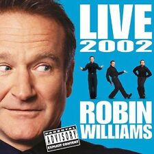 Live 2002 [PA] by Robin Williams (Comedy) (CD, Nov-2002, 2 Discs, Sony Music...