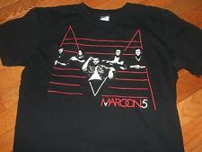 Maroon 5 2011 tour shirt Adult Medium Adam Levine