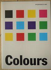 Porsche; Colours, Brochure