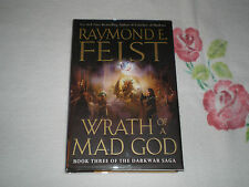 WRATH OF A MAD GOD by RAYMOND E. FEIST    *SIGNED*   -FM-