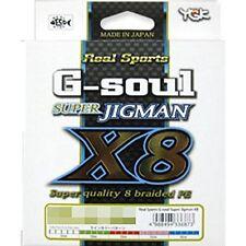 YGK PE Fishing Line G-Soul Super JIGMAN X8 600m PE 1.5 - 30 lb Japan new .