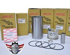 5-87814133-2 Cylinder Engine Liner Kit 4JB1 (Set of 4)