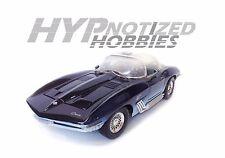 MOTORMAX 1:18 CHEVROLET 1961 MAKO SHARK DIECAST DARK BLUE 68802