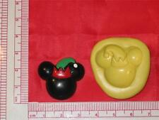 Mickey Mouse Silicone Mold A721 Fondant Clay Cake Chocolate Resin Soap Fimo