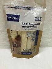 New Virbac C.E.T. Enzymatic Oral Hygiene Chews Small Dog 30 Count