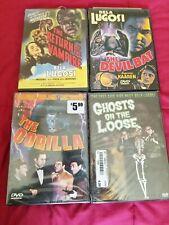 Bela Lugosi 4 Dvds Return of the Vampire-Devil Bat-Ghosts on Loose-The Gorilla