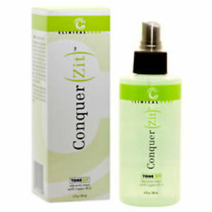 Clinical Care Conquer (Zit) ToneZit oily- Acne Toner with copper PCA  6 oz