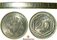 VITTORIO EMANUELE III - 20 CENTESIMI ESAGONO 1918 - LISCIO (nc1408)