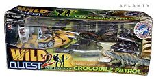 Chap Mei Wild Quest 2 Playset Action Figure Deep Expedition Crocodile Patrol