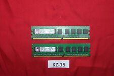 2gb Kingston ddr2 di RAM kvr667d2e5k2/2g memoria Memoria