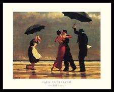 Jack Vettriano The singing Butler Poster Bild Kunstdruck im Alu Rahmen 40x50cm